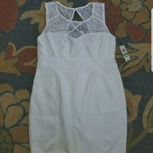 White thalia dress